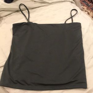 2️⃣ for $10 Cotton On Gray Square Tank Large